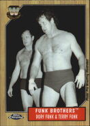2008 WWE Heritage III Chrome Trading Cards Funk Brothers 73