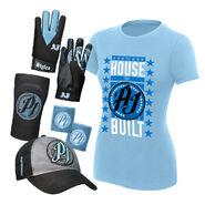 AJ Styles The House That AJ Built Women's T-Shirt Package
