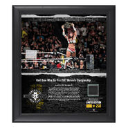 Kairi Sane NXT TakeOver Brooklyn 2018 15 x 17 Framed Plaque w Ring Canvas