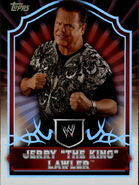 2011 Topps WWE Classic Wrestling Jerry Lawler 28