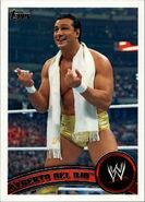 2011 WWE (Topps) Alberto Del Rio 51