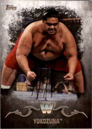 2016 Topps WWE Undisputed Wrestling Cards Yokozuna 100