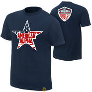 American Alpha Ready, Willing, and Gable Authentic T-Shirt