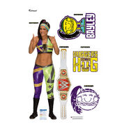 Bayley Fathead 5-Piece Wall Decals