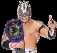 Kalisto wwe cruisereight champion by rollinsftorton-daw3z6e