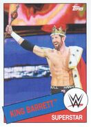 2015 WWE Heritage Wrestling Cards (Topps) King Barrett 61
