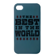 CM Punk Best In The World iPhone 4 Case