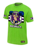 John Cena Cenation Respect Authentic T-Shirt