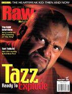 Raw Magazine August 2000