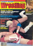 Sports Review Wrestling - November 1981