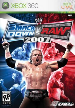 WWE SmackDown! vs. RAW 2007のカバーアート