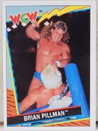 1992 WCW Trading Cards (Topps) Brian Pillman 17