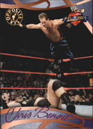 2004 WWE Divas 2005 (Fleer) Chris Benoit 76