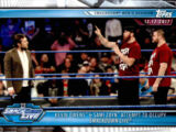 2019 WWE Road to WrestleMania Trading Cards (Topps) Kevin Owens & Sami Zayn (No.75)