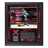 Dolph Ziggler Extreme Rules 2018 15 x 17 Framed Plaque w Ring Canvas