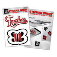 Nikki Bella Vinyl Sticker Sheet
