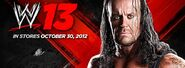 Undertaker wwe 13 cover