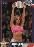 2013 TNA Impact Glory Wrestling Cards (Tristar) Velvet Sky 59