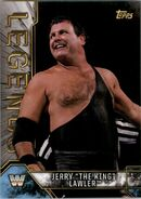 2017 Legends of WWE (Topps) Jerry The King Lawler 48