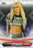 2019 WWE Raw Wrestling Cards (Topps) Liv Morgan 47