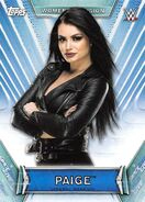 2019 WWE Women's Division (Topps) Paige 30