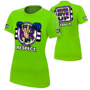 John Cena Cenation Respect Women's Authentic T-Shirt