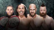 PB 2017 Hardys v Sheamus & Cesaro