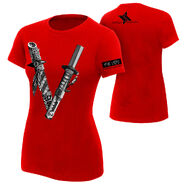 Shinsuke Nakamura The Vibe Women's Authentic T-Shirt