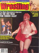 Sports Review Wrestling - January 1983
