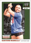 2008 WWE Heritage IV Trading Cards (Topps) Santino Marella 43