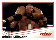 2013 WWE (Topps) Brock Lesnar 5