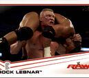 2013 WWE (Topps) Brock Lesnar (No.5)