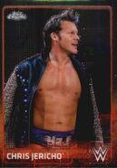 2015 Chrome WWE Wrestling Cards (Topps) Chris Jericho 15