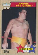 2017 WWE Heritage Wrestling Cards (Topps) Andre the Giant 69