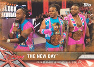 2017 WWE Road to WrestleMania Trading Cards (Topps) The New Day 38