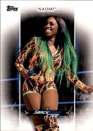 2017 WWE Women's Division (Topps) Naomi 32