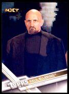 2017 WWE Wrestling Cards (Topps) Paul Ellering 80