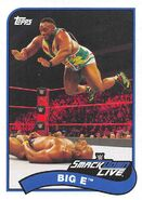 2018 WWE Heritage Wrestling Cards (Topps) Big E