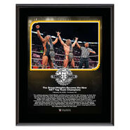 Broserweights NXT TakeOver Portland 10 x 13 Limited Edition Plaque