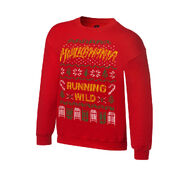 Hulk Hogan Ugly Holiday Sweatshirt
