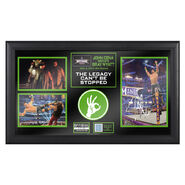John Cena WrestleMania 30 Signed Commemorative Plaque