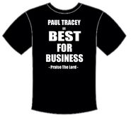 ''Praise The Lord'' - Paul Tracey t-shirt