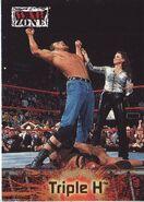 2001 WWF RAW Is War (Fleer) Triple H 70