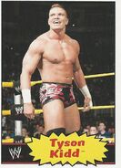 2012 WWE Heritage Trading Cards Tyson Kidd 41