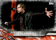 2017 WWE Road to WrestleMania Trading Cards (Topps) Dean Ambrose 39