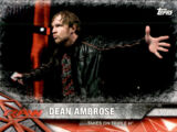 2017 WWE Road to WrestleMania Trading Cards (Topps) Dean Ambrose (No.39)