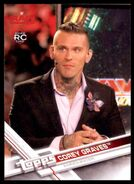 2017 WWE Wrestling Cards (Topps) Corey Graves 14