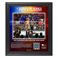 Adam Cole Survivor Series 2019 15x17 Limited Edition Plaque