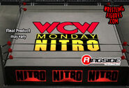 WCW Monday Nitro - (Ring Skirt & Mat)