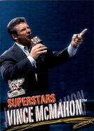 2001 WWF WrestleMania (Fleer) Vince McMahon 37